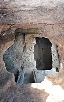 Пещерный храм Эски-Кермен